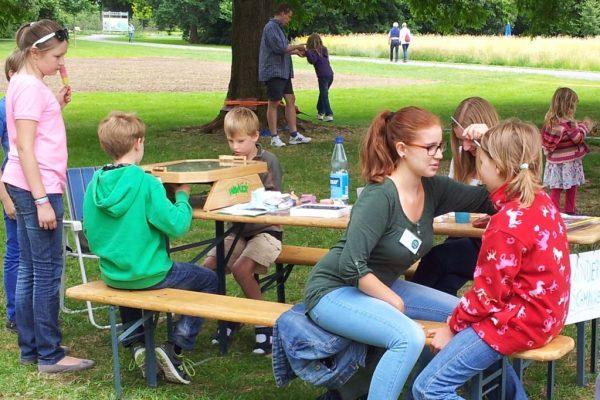 Kinderprogramm auf der Landesgartenschau